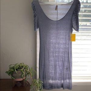 Form Fitting Striped Dress